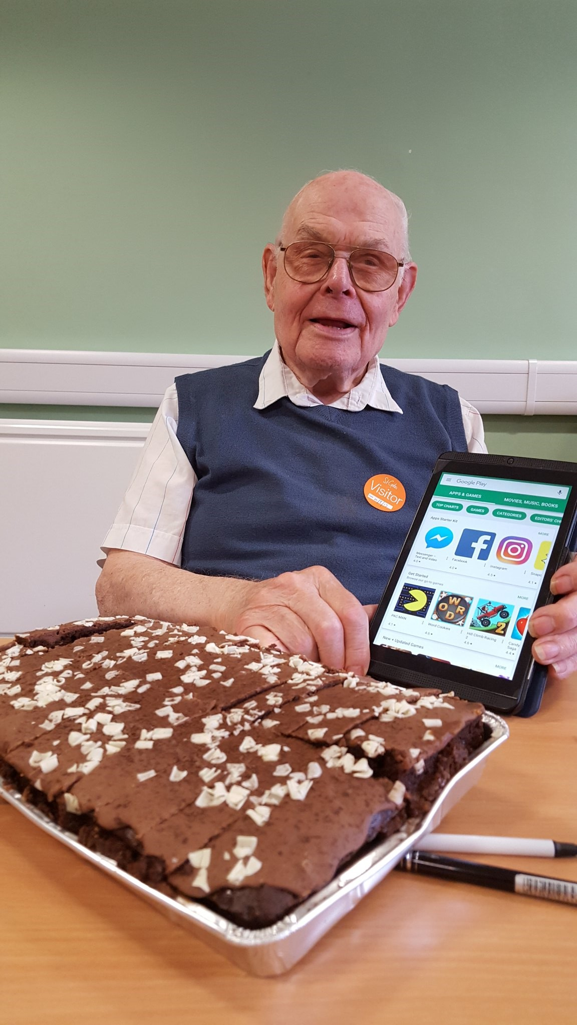 Fred goes viral on social media for 91st birthday