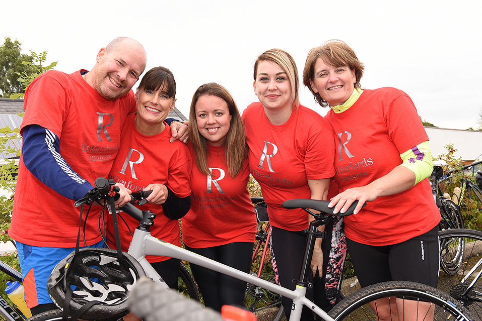 Tamworth solicitors get on their bikes to support local hospice