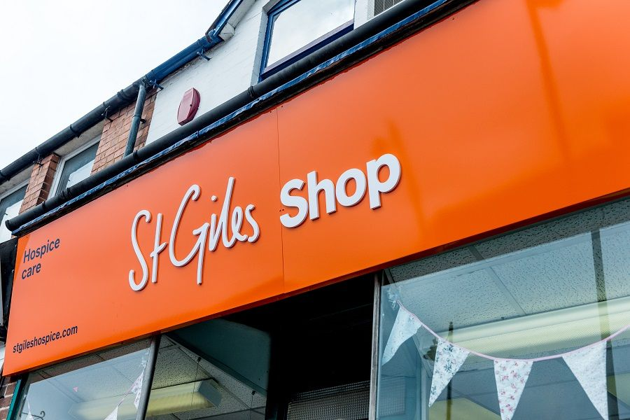 Brownhills shop celebrates a decade of fundrasing for St Giles Hospice
