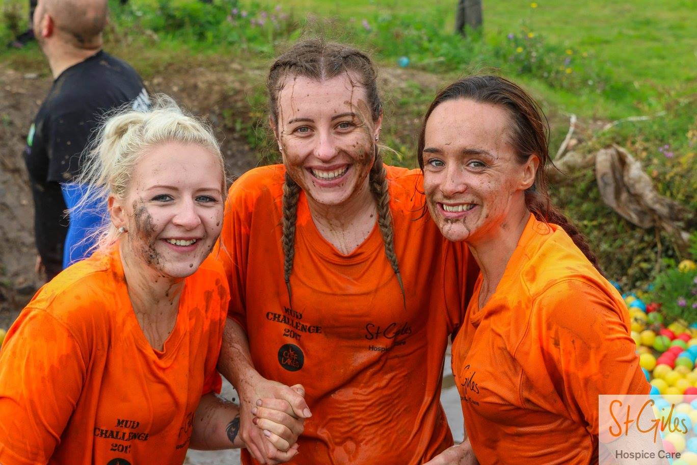 Make a splash at St Giles Hospice Mud Challenge