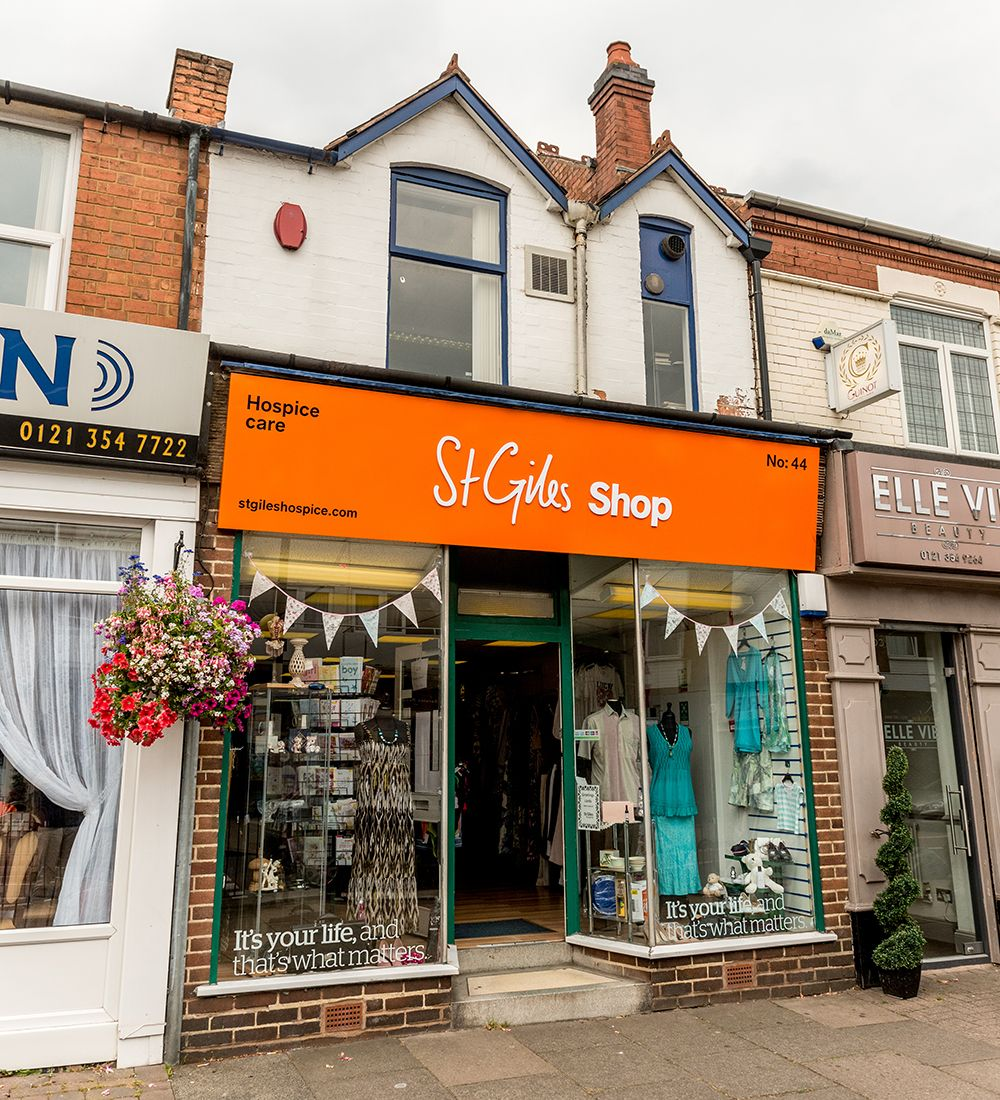 St Giles Hospice's Boldmere shop celebrates 10th anniversary with a day of bargains