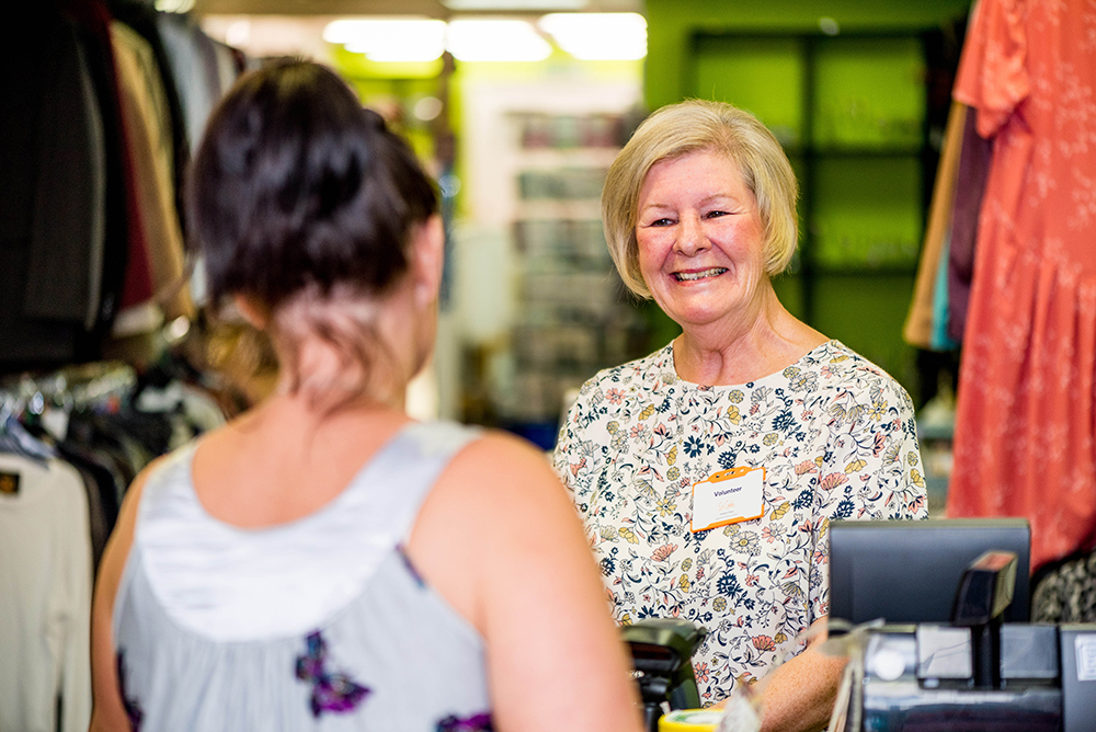 Make volunteering at a St Giles Shop your New Year's resolution