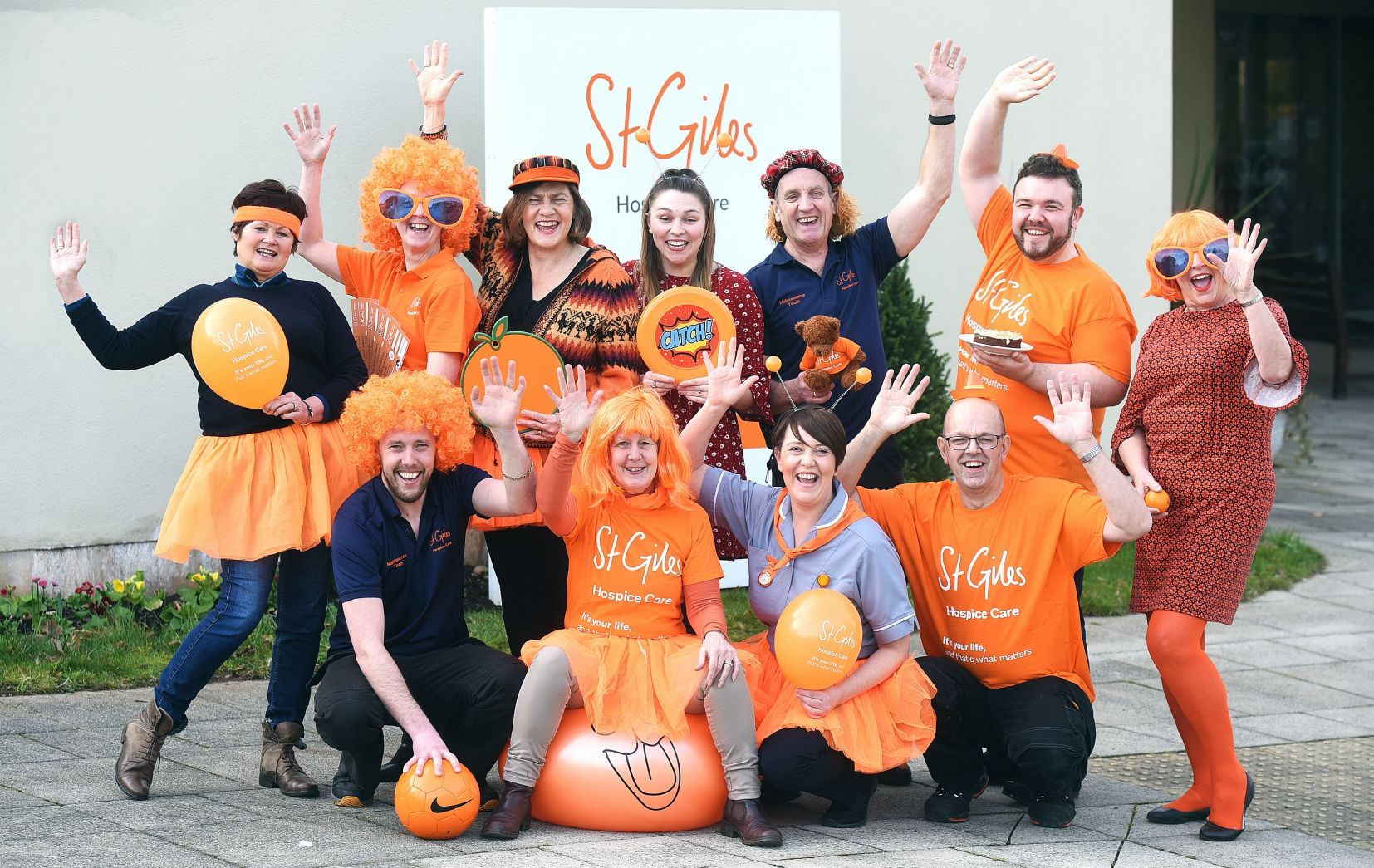 Go orange to support St Giles Hospice on 3rd April
