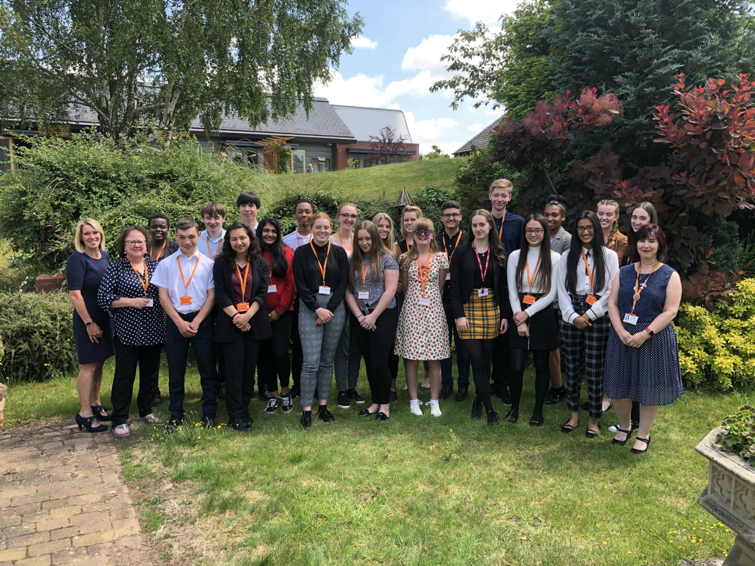 Health and social care workers of the future get a head start at St Giles Hospice Summer School