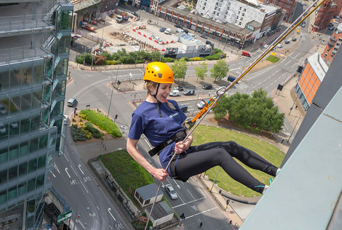 Scale new heights with St Giles Hospice in our first-ever abseil challenge