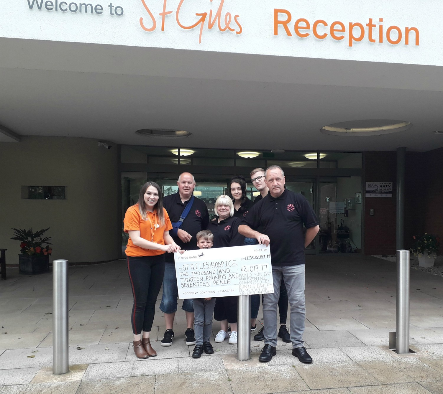 Burntwood family fun day raises £2,000 for St Giles Hospice