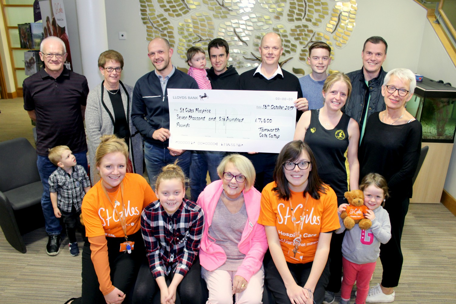 Tamworth Gate Gallop raises £7,600 for St Giles Hospice