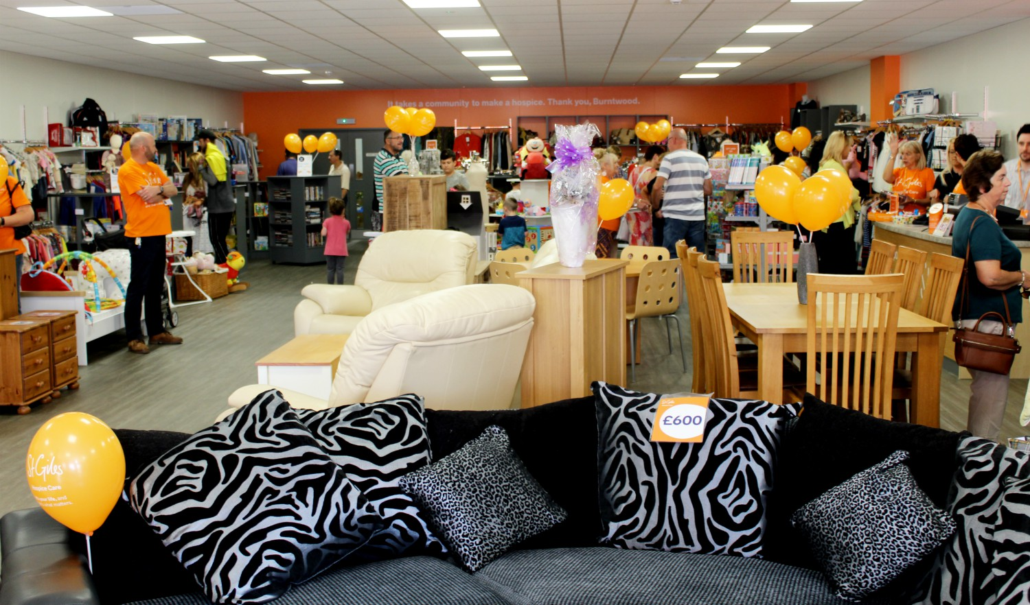 Make volunteering at a St Giles Hospice shop your New Year's resolution for 2020