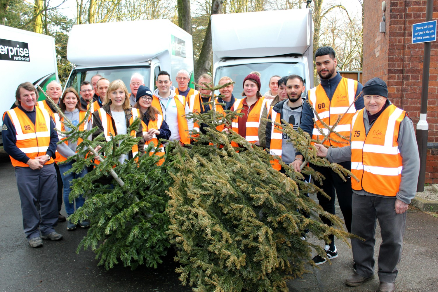 St Giles Hospice celebrates amazing Treecycle success