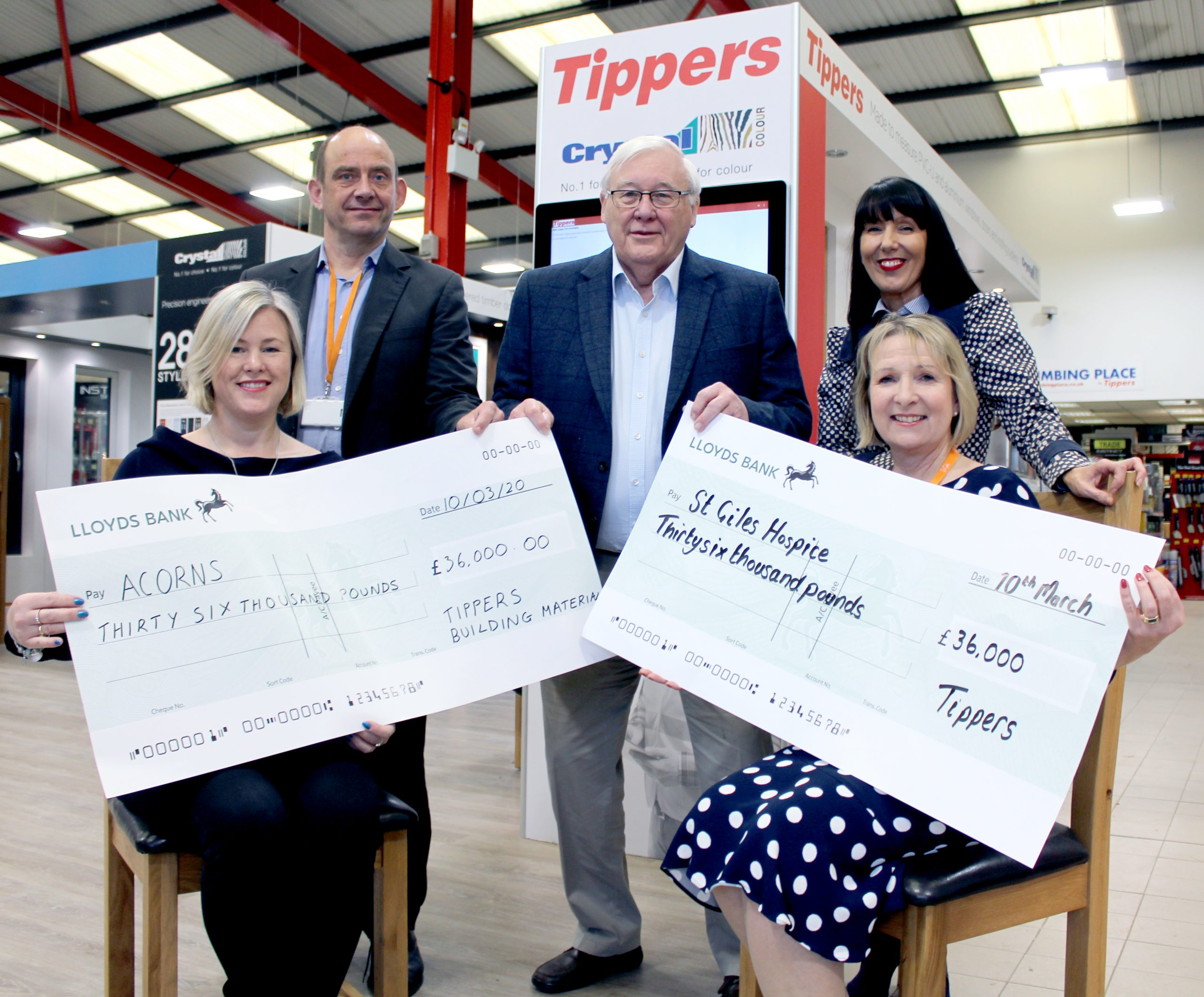 Tippers funds vital services for local hospices