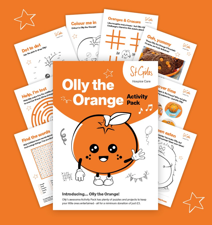 Olly the Orange Activity Pack