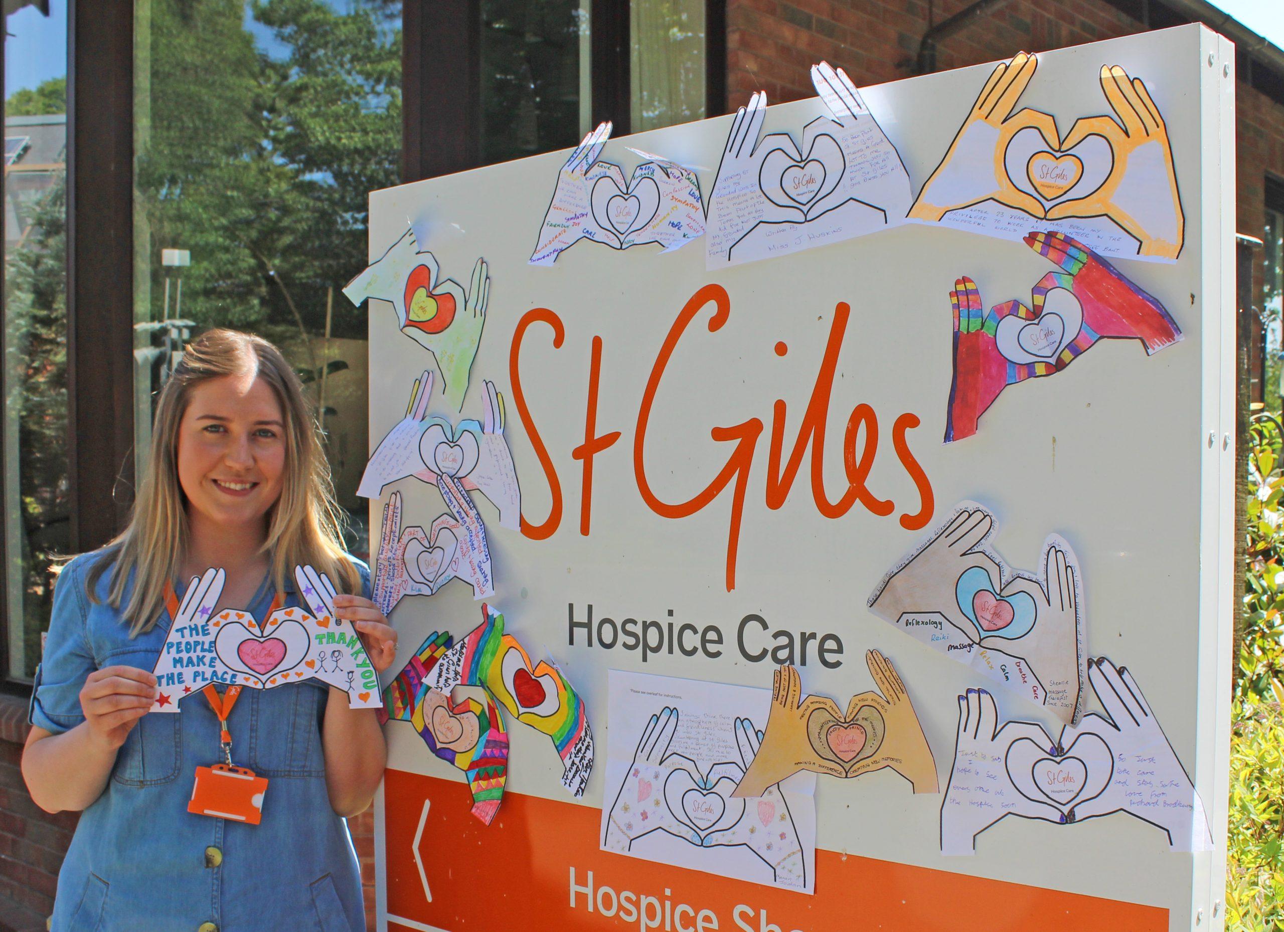 St Giles Hospice hails volunteer heroes