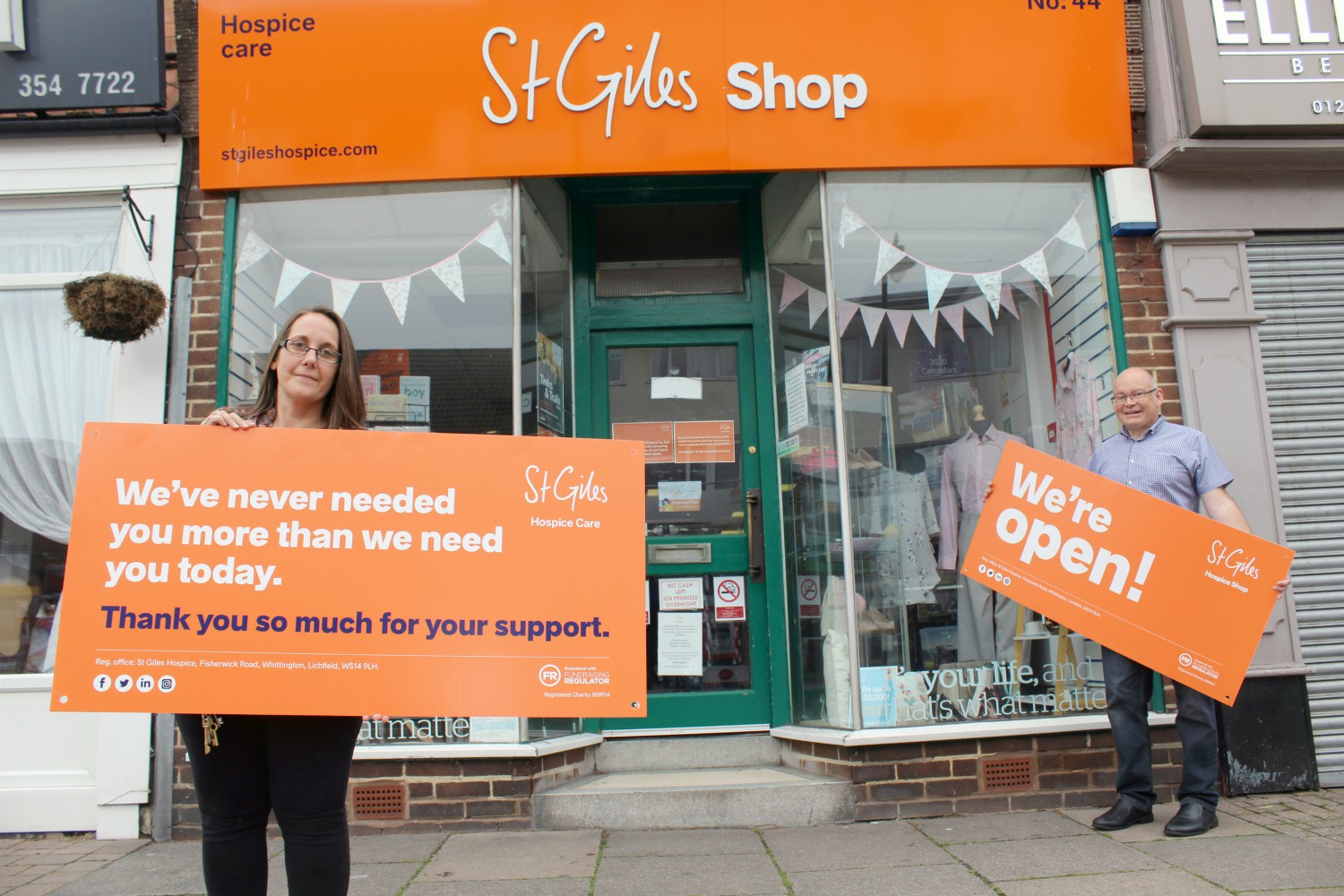 Funding boost as shops begin to re-open