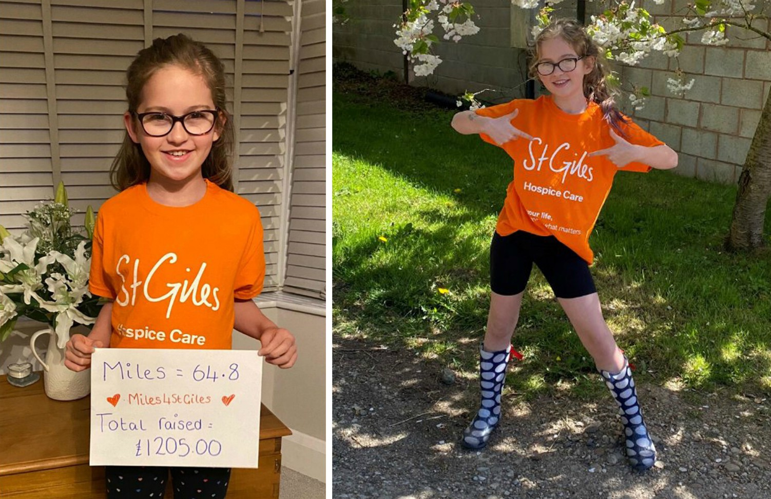 Call for kids to join Mini Miles 4 St Giles