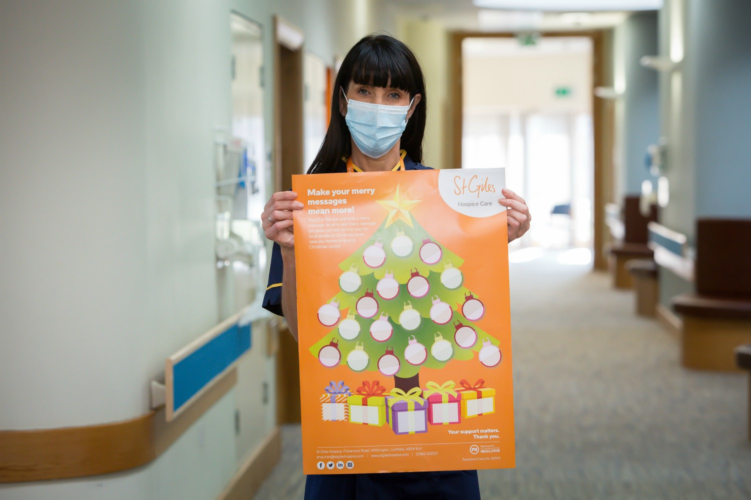 Give the gift of care by supporting Katie's Christmas Appeal