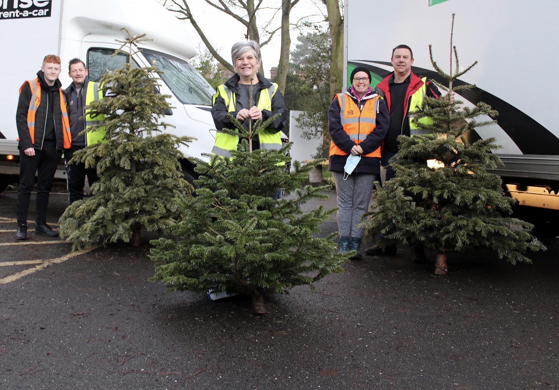 Hospice celebrates record-breaking TreeCycle success